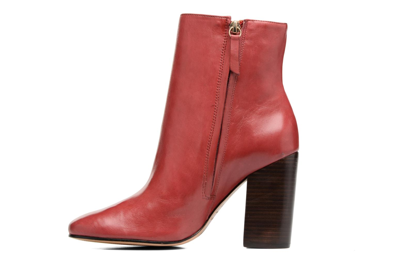 Bottines et boots COSMOPARIS ASSAYA Rouge vue face