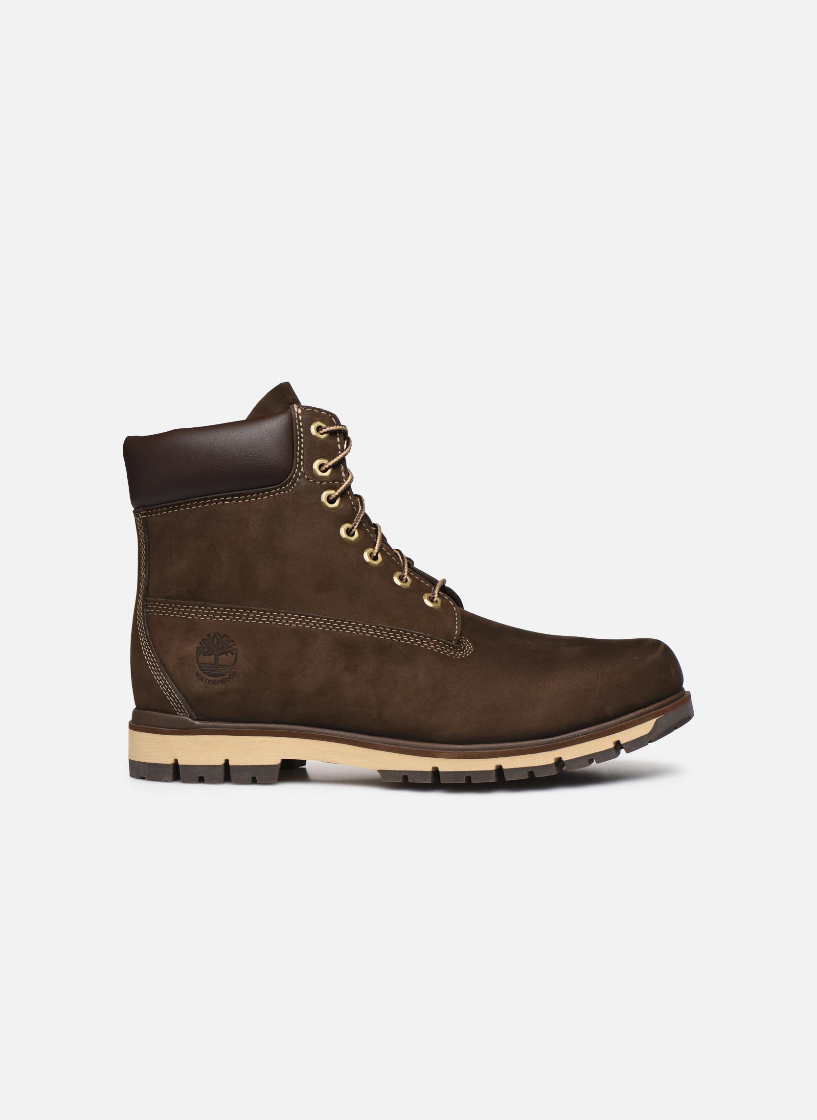 """Boots en enkellaarsjes Timberland Radford 6"""" Boot WP Bruin achterkant"""