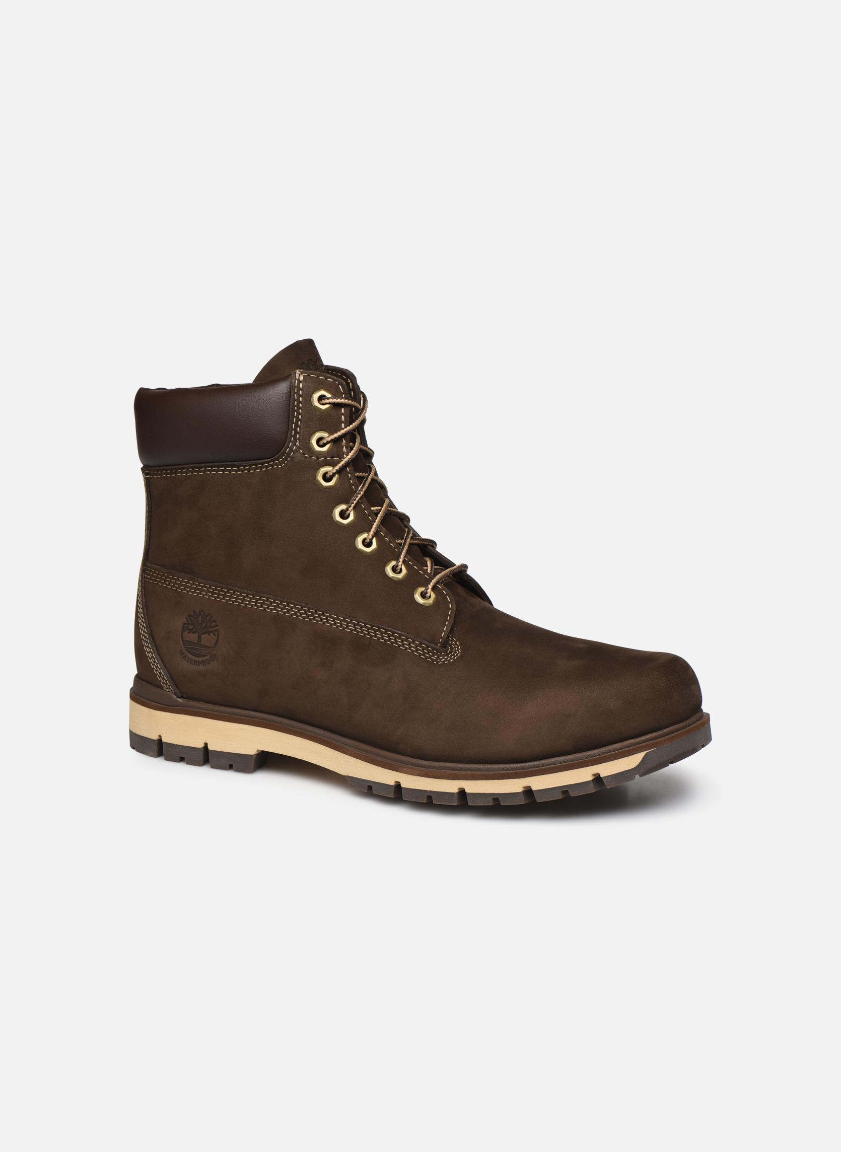 """Bottines et boots Timberland Radford 6"""" Boot WP Marron vue détail/paire"""