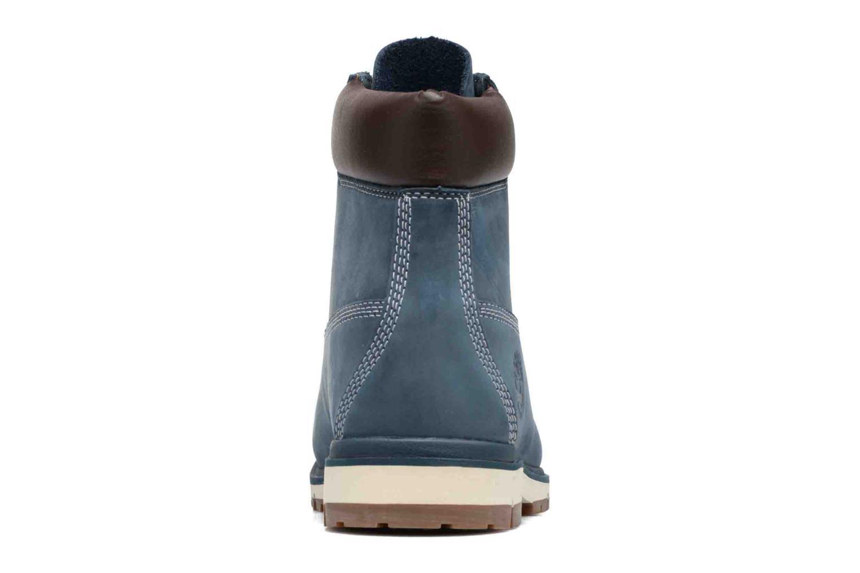 "Bottines et boots Timberland Radford 6"" Boot WP Bleu vue droite"