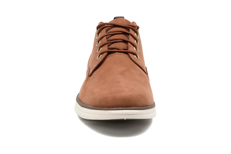 Sneaker Timberland Bradstreet 5 Eye Ox braun schuhe getragen
