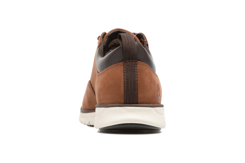 Sneaker Timberland Bradstreet 5 Eye Ox braun ansicht von rechts