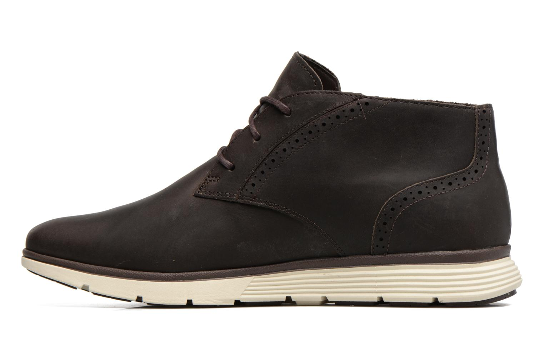 Chaussures à lacets Timberland Franklin Prk Chukka Noir vue face