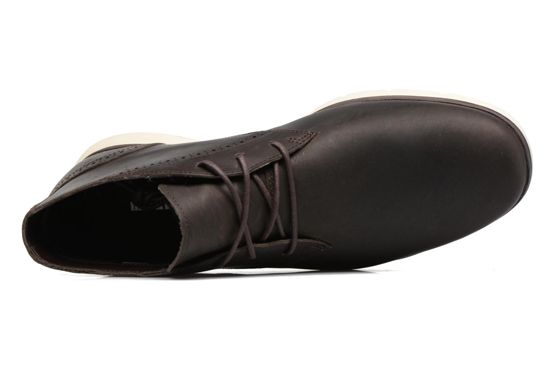 Chaussures à lacets Timberland Franklin Prk Chukka Noir vue haut