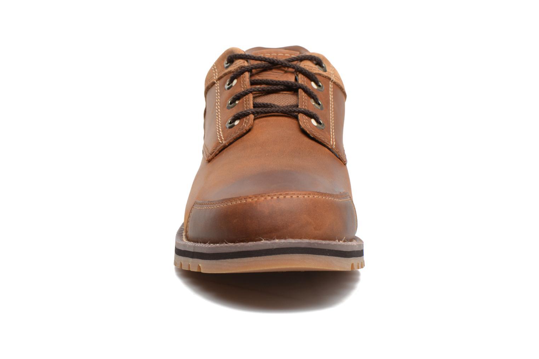 Chaussures à lacets Timberland Larchmont Oxford Marron vue portées chaussures