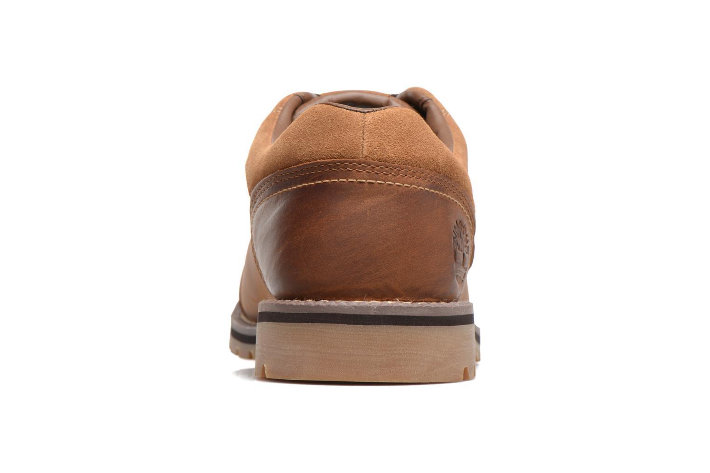 Chaussures à lacets Timberland Larchmont Oxford Marron vue droite