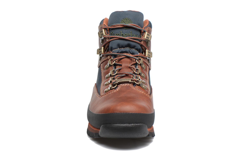 Bottines et boots Timberland Euro Hiker GTX Marron vue portées chaussures