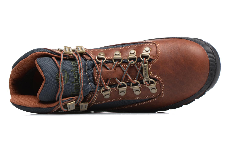 Bottines et boots Timberland Euro Hiker GTX Marron vue gauche