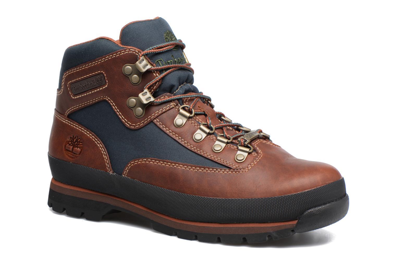 Bottines et boots Timberland Euro Hiker GTX Marron vue détail/paire