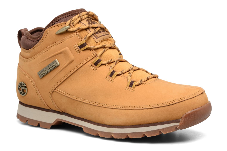 Bottines et boots Timberland Euro Sprint Sport Marron vue détail/paire