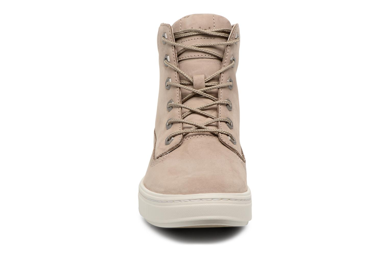 Sneaker Timberland Londyn 6 Inch beige schuhe getragen