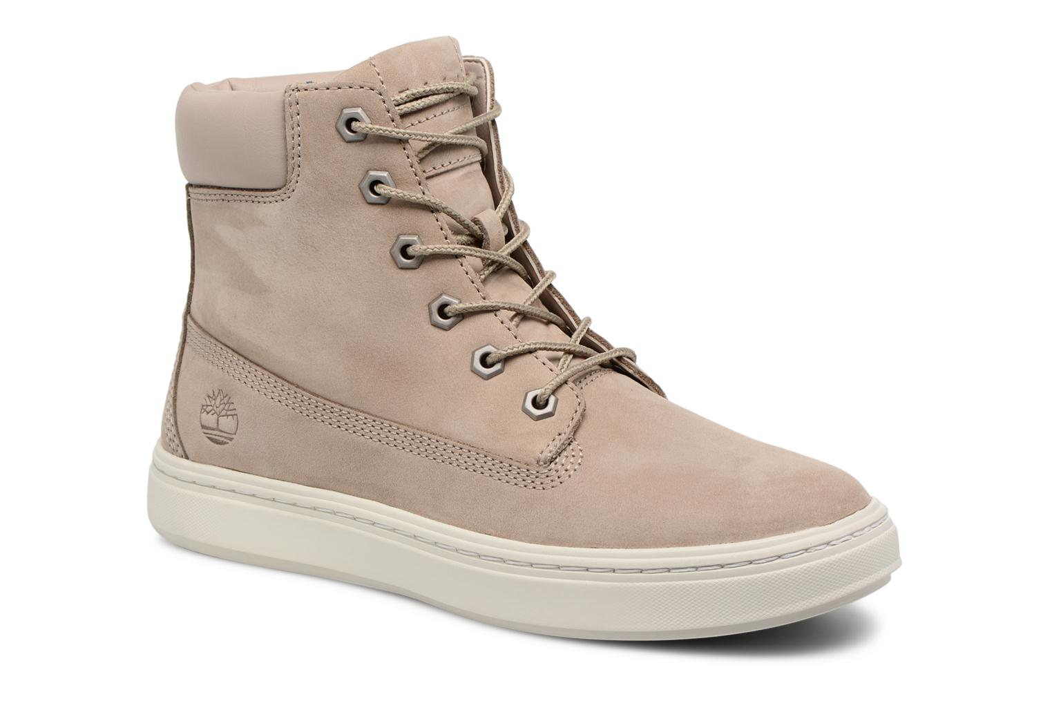 Baskets Timberland Londyn 6 Inch Beige vue détail/paire
