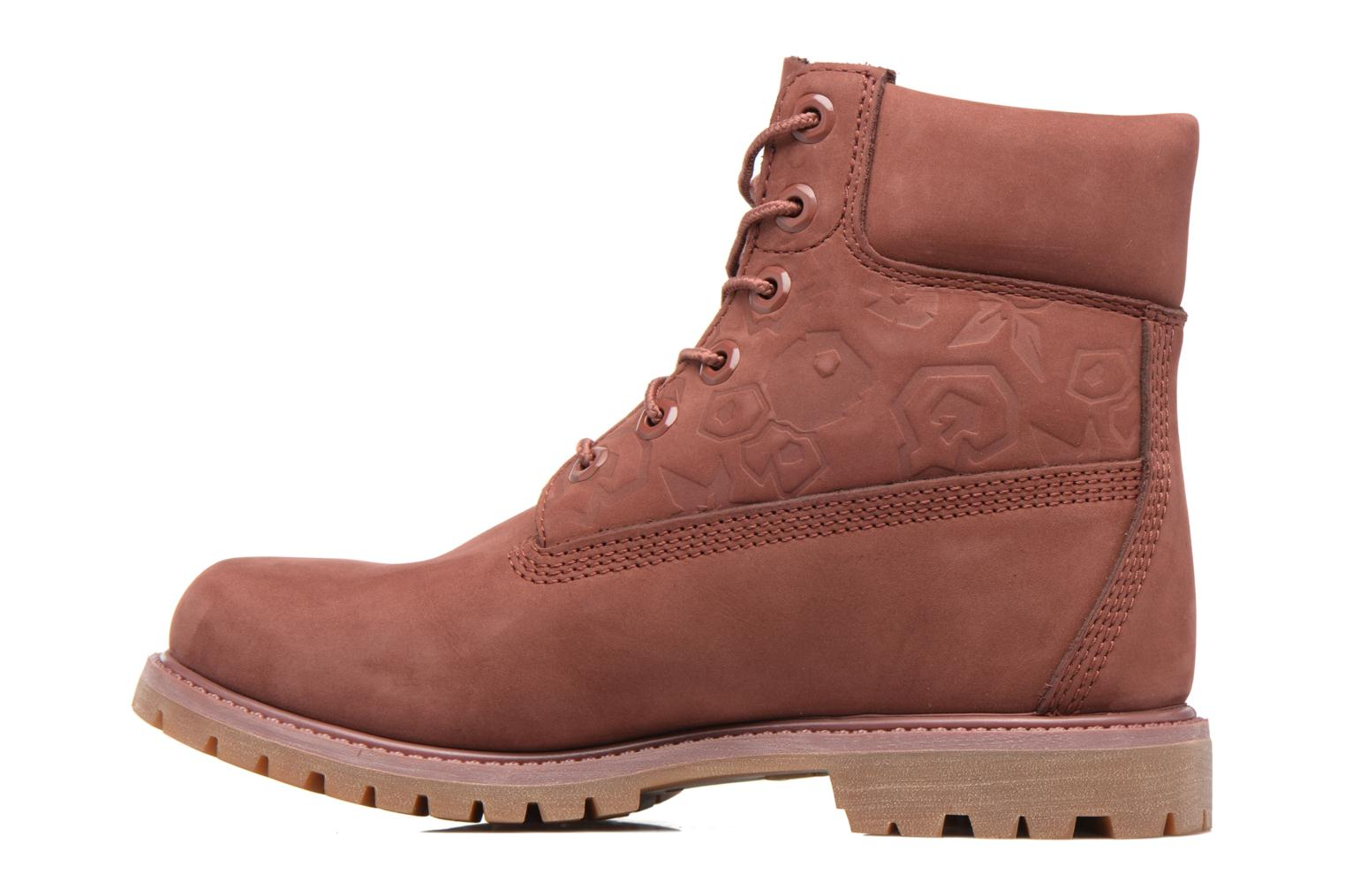 Bottines et boots Timberland 6in Premium Boot - W Bordeaux vue face