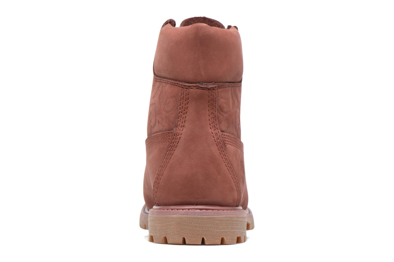 6in Premium Boot - W Sable Waterbuck Embossed