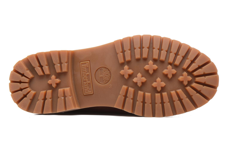 Bottines et boots Timberland 6in Premium Boot - W Bordeaux vue haut