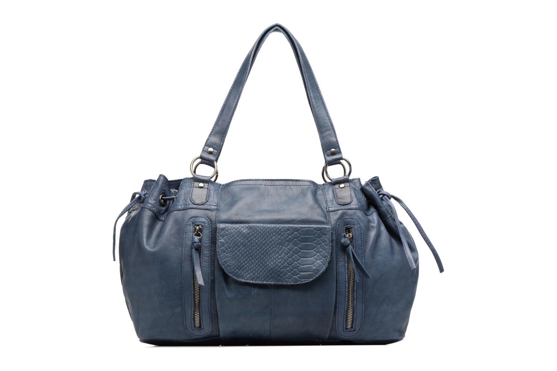 Sacs à main Pieces Jihano Leather Bag Bleu vue détail/paire