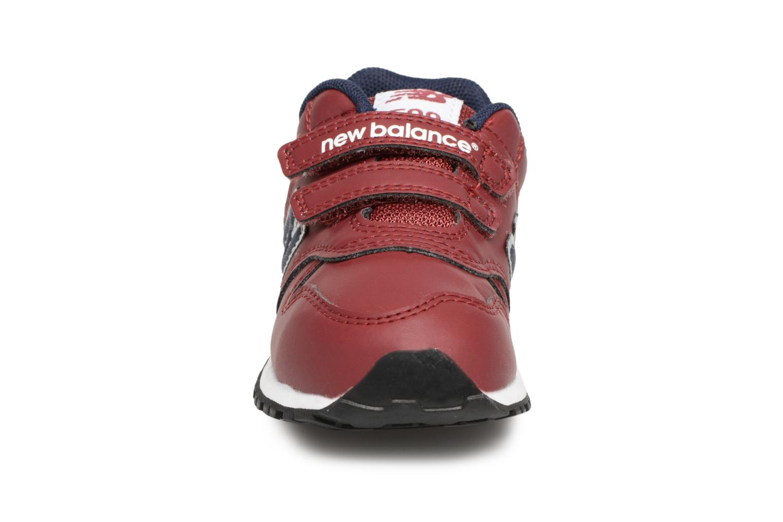 Baskets New Balance KV500 I Bordeaux vue portées chaussures