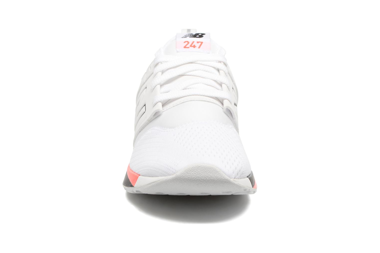 Baskets New Balance KL247 Blanc vue portées chaussures