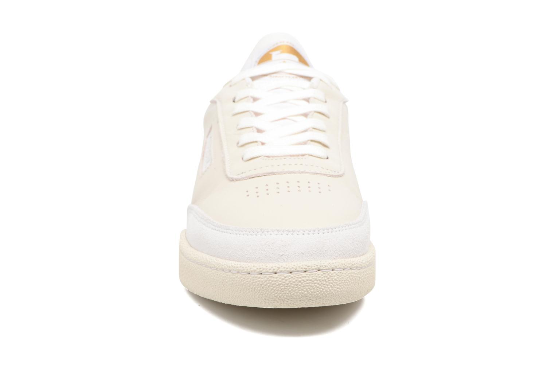 Baskets M. Moustache Anatole Blanc vue portées chaussures