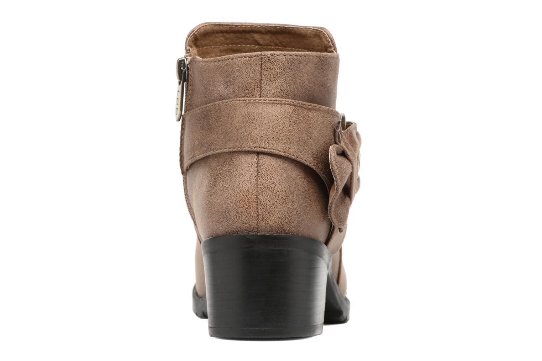 Bottines et boots Les P'tites Bombes Diane Marron vue droite