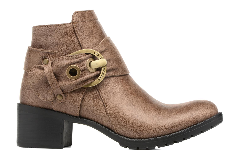Bottines et boots Les P'tites Bombes Diane Marron vue derrière