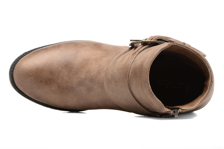 Bottines et boots Les P'tites Bombes Diane Marron vue gauche