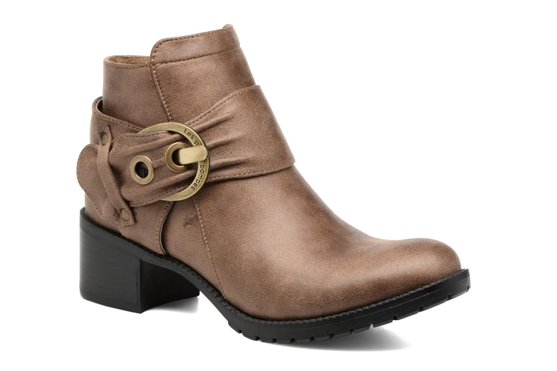 Bottines et boots Les P'tites Bombes Diane Marron vue détail/paire
