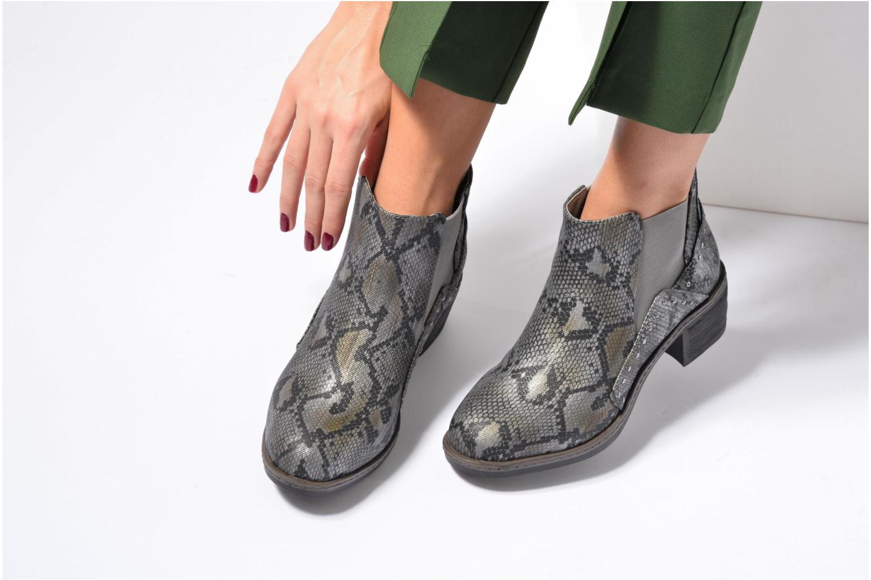 Bottines et boots Les P'tites Bombes Carole Gris vue bas / vue portée sac