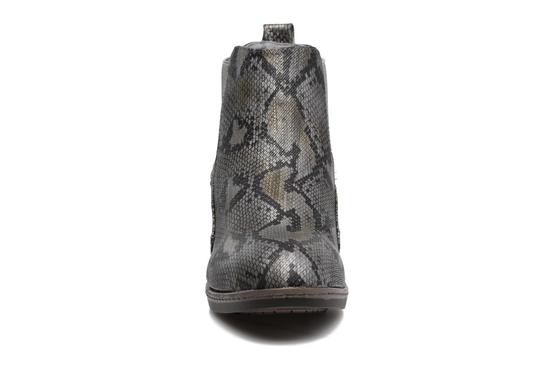 Bottines et boots Les P'tites Bombes Carole Gris vue portées chaussures