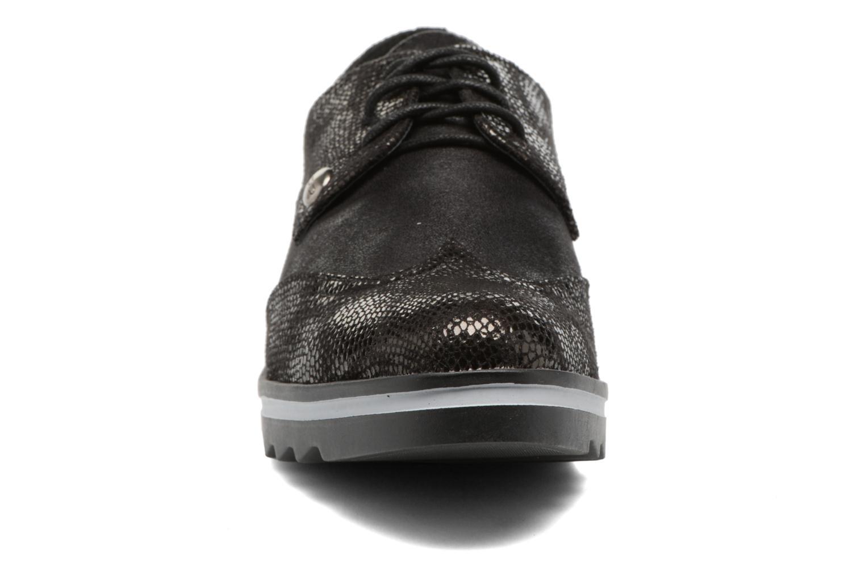 Chaussures à lacets Les P'tites Bombes Charleston Noir vue portées chaussures