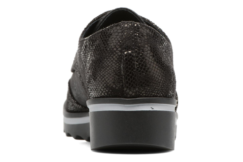 Chaussures à lacets Les P'tites Bombes Charleston Noir vue droite