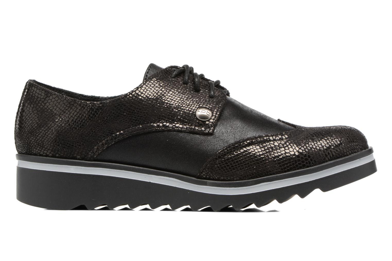 Chaussures à lacets Les P'tites Bombes Charleston Noir vue derrière