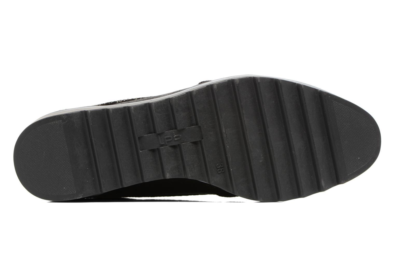 Chaussures à lacets Les P'tites Bombes Charleston Noir vue haut