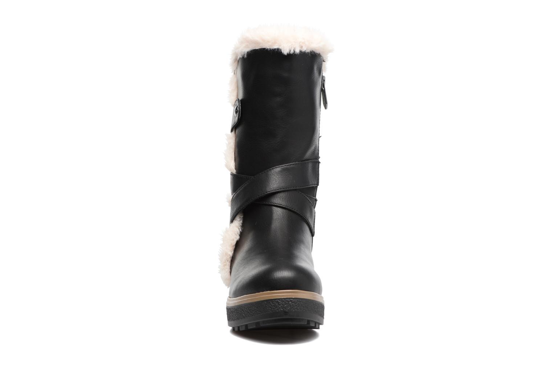 Boots & wellies Les P'tites Bombes Fabienne Black model view