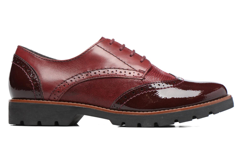 Chaussures à lacets Jana shoes Joséphine Bordeaux vue derrière