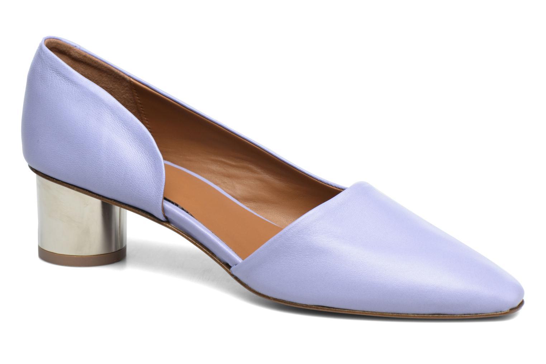 Karla Purple Leather