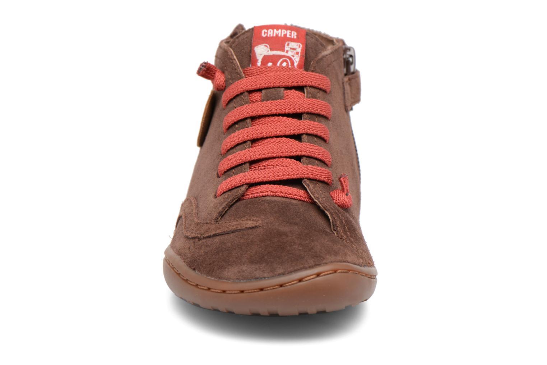 Bottines et boots Camper TWS Monkey Marron vue portées chaussures