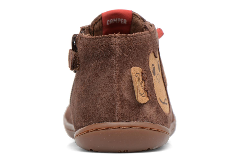 Bottines et boots Camper TWS Monkey Marron vue droite