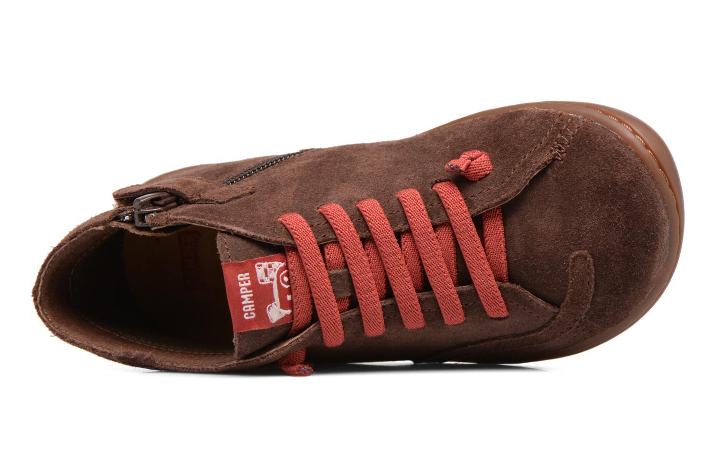 Bottines et boots Camper TWS Monkey Marron vue gauche