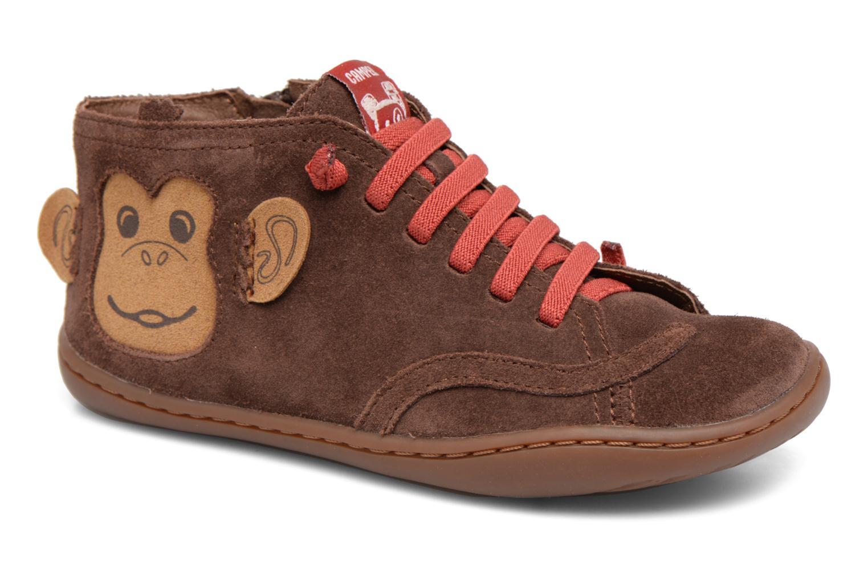 Bottines et boots Camper TWS Monkey Marron vue détail/paire