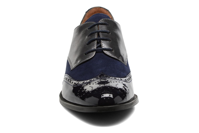 Chaussures à lacets Georgia Rose Tritrou Bleu vue portées chaussures