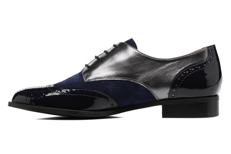 Lace-up shoes Georgia Rose Tritrou Blue front view