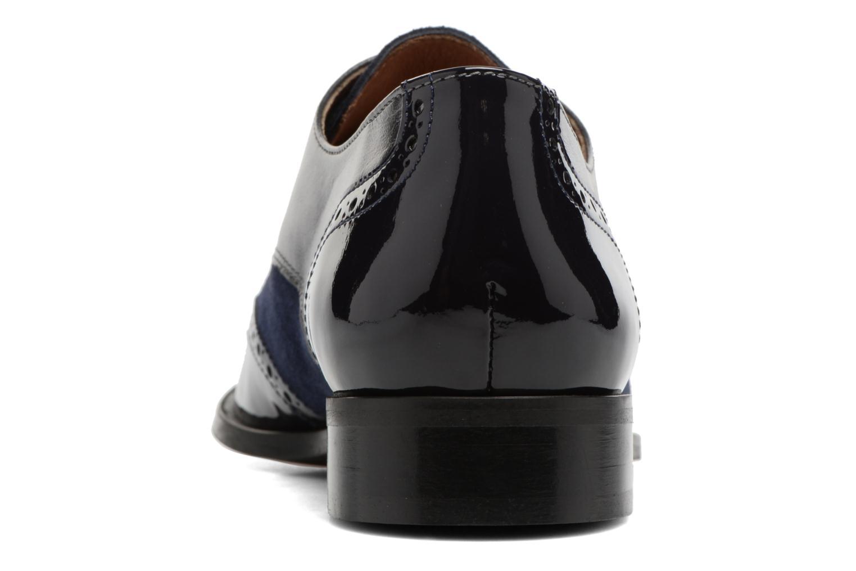 Chaussures à lacets Georgia Rose Tritrou Bleu vue droite