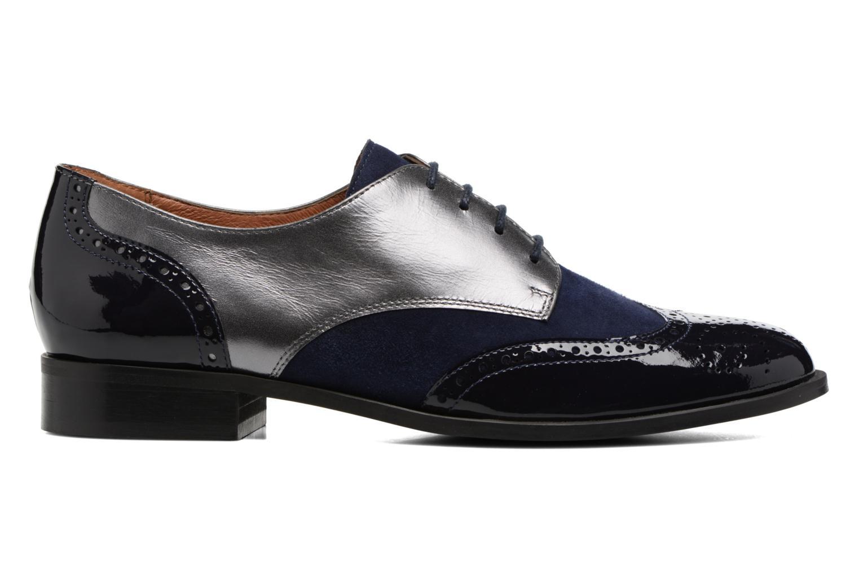 Chaussures à lacets Georgia Rose Tritrou Bleu vue derrière