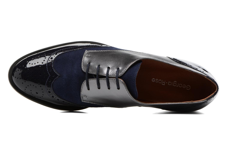 Chaussures à lacets Georgia Rose Tritrou Bleu vue gauche
