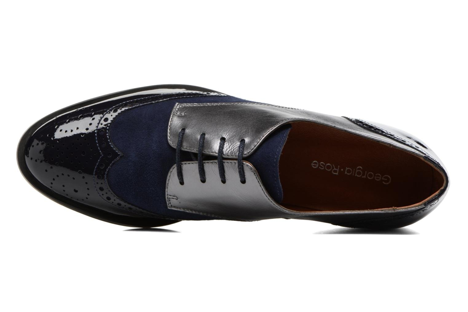 Lace-up shoes Georgia Rose Tritrou Blue view from the left