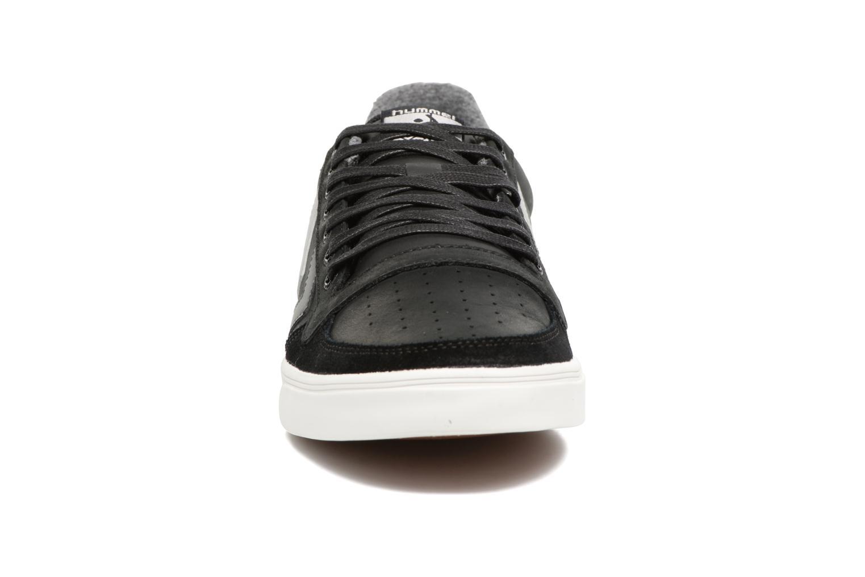Sneakers Hummel Slimmer Stadil Duo Oiled Low Zwart model