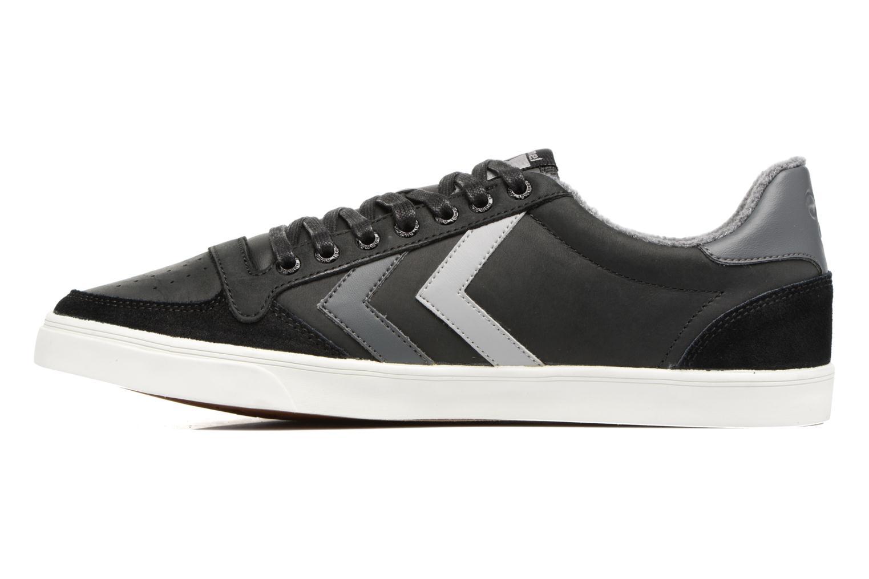 Sneakers Hummel Slimmer Stadil Duo Oiled Low Zwart voorkant