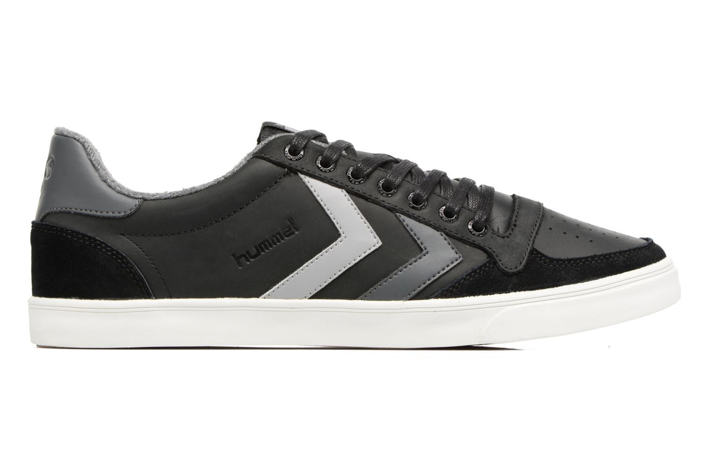 Sneakers Hummel Slimmer Stadil Duo Oiled Low Zwart achterkant
