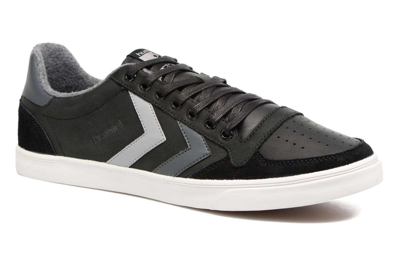 Sneakers Hummel Slimmer Stadil Duo Oiled Low Zwart detail